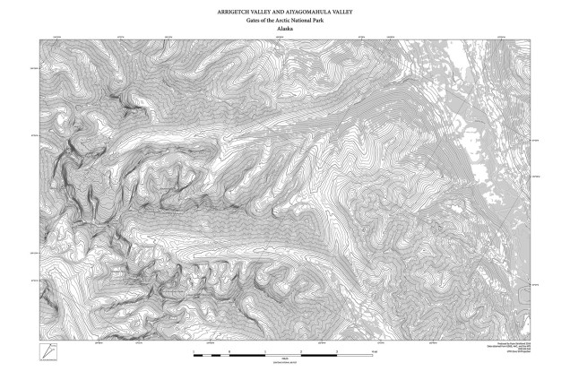 Arrigetch Peaks Map 1 grayscale OnlineImg